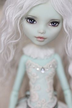 Monster High Doll OOAK Frankie Stein Custom Repaint, Wig, and Full Outfit !!!