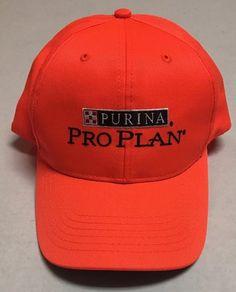 Purina Pro Plan Hat Hunter Orange Baseball Cap Dog Food Largo Florida FL Hunt #BaseballCap