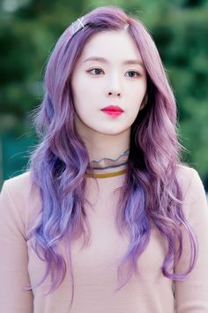 Red Velvet Hair Color Kpop – Best Boxed Hair Color Brand Check more at www.fitnu… - All For Hair Color Balayage Red Velvet Hair Color, Red Velvet Irene, Red Hair Color, Purple Hair, Seulgi, Best Box Hair Color, Kpop Hair Color, Hair Color Brands, Red Valvet