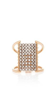 Bezel set diamond charnieres ring by YANNIS SERGAKIS ADORNMENTS for Preorder on Moda Operandi