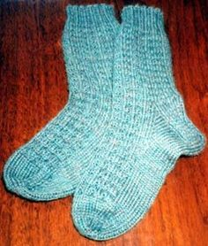 A whole website about knitting socks