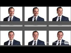 Headshot Photography Workflow