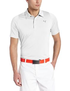 Puma Golf NA Mens Duo Swing Polo Shirt White Medium *** Want to know more, click on the image. Note:It is Affiliate Link to Amazon.