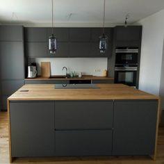 Ikea Kitchen, Kitchen Interior, Kitchen Decor, Kitchen Cabinets, Kitchen Grey, Grey Kitchens, Home Kitchens, Küchen Design, Interior Design