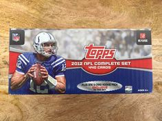 Topps NFL Complete Set 2012 440 4 of 5 Rookie Cards. Not sealed. great condition