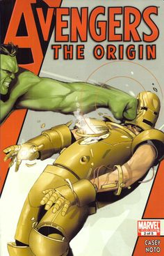 Avengers The Origin #2 of 5. This cover is hilarious! repin by #dazehub #daze #herofernalia