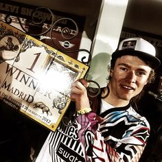 Levi Sherwood woins Red Bull X-Fighters Madrid!