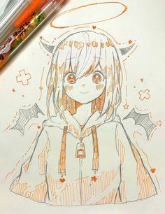 You are in the right place about anime dessin couple Here we offer you the most beautiful pictures a Anime Drawings Sketches, Anime Sketch, Kawaii Drawings, Manga Drawing, Manga Art, Cute Drawings, Anime Art Girl, Pencil Drawings, Kawaii Art