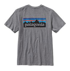 We've spent decades climbing, biking, backpacking and paddling in it: The classic P-6 logo endures. Here it's printed (with PVC- and phthalate-free inks) on our standard-weight, ringspun and supersoft