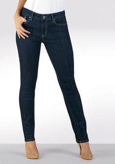 Skinny Jean (Dark Wash) for Tall Women | Long Elegant Legs  Item # 58179  $79.00  36 inch inseam
