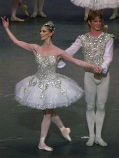 Diamonds from the ballet jewels created by George Balanchine