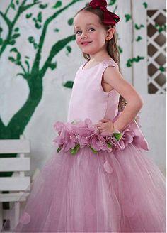 Attractive  Ball Gown Flower Girl Dress