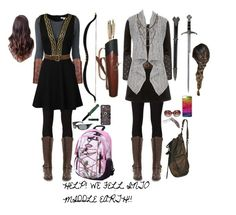 """""""HELP! WE FELL INTO MIDDLE EARTH!!"""" by ashley-huggins-1 ❤ liked on Polyvore featuring Dolce&Gabbana, rag & bone/JEAN, Soda, CellPowerCases, Realtree, Arnette, Oliver Peoples, S.W.O.R.D., Topshop and maurices"""
