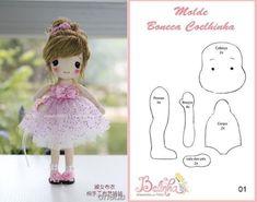 Выкройки текстильных кукол разных мастеров | all Dolls