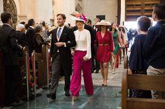 La boda de Ana y Juanan estuvo cargada de detalles y de invitadas elegantes, ¿te la vas a perder?