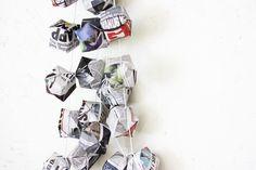Origami Balloon LED Garland | Morning Creativity