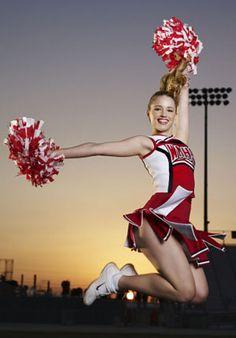 ドラマ「Glee」のキュートなチアリーディングガール、Quinnちゃん