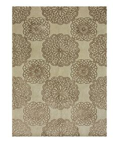Take a look at this Beige Foster Wool Rug by Loloi Rugs on #zulily today!        l really like this one     i want it