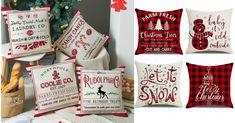 4-Pack Christmas Cushion Pill...