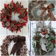 Świąteczne ozdoby z szyszki Christmas Wreaths, Christmas Decorations, Holiday Decor, Diy And Crafts, Home Decor, Decoration Home, Room Decor, Home Interior Design, Christmas Decor