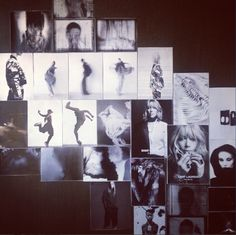 Getting creative with our inspirational mood board at Saxony HQ