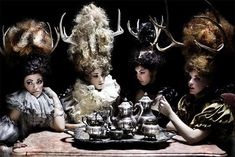 Decadent Antlertography - 'Antlers' by Keith Bryce Celebrates 1600s Excess & Animals (GALLERY)