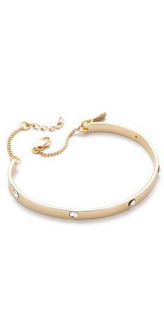 Shashi Crystal Bangle Bracelet | SHOPBOP