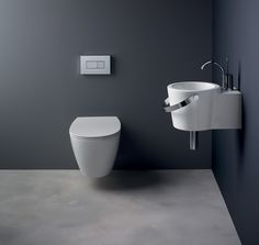 Every Sottini bathroom product is born of an inspired concept. Each basin, bath and toilet is a unique piece, a work of art and a design statement. Sottini is a timeless brand built on a heritage of quality and innovation in design Bathroom Basin, Washroom, Bathroom Stuff, Young At Heart, Toilet, Luxury, Basins, Design, Wall