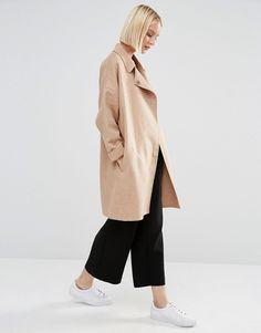 Selected Kaia Throw On Wool Coat