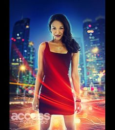 Candice Patton as Iris West in The CW's 'The Flash,' premiering October 7 at 8/7c