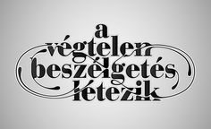 Typographic posters « Kiss Miklos