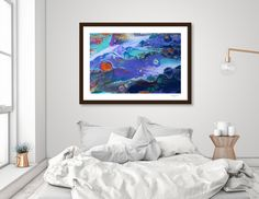 Discover «spacial landscape», Limited Edition Fine Art Print by Renee Jones - From $29 - Curioos