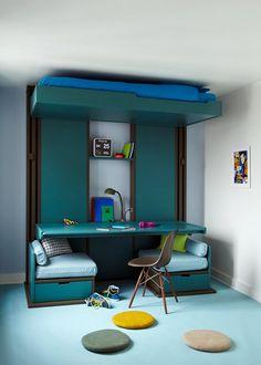 Une chambre d'ado modulable