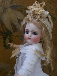 ~~~ Rare Early Period French Bisque BeBe by Gaultier ~~~