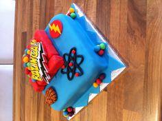 Big Bang Theory Cake - Bazinga!
