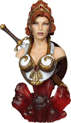 Masters of the Universe Teela Quarter-Scale Collectible Bust