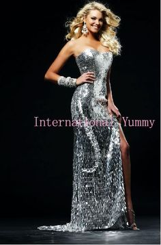 Sexy Silver and blue long prom dress evening dress Newest Lady's Dress Fashion Party Dress large size CE005 on AliExpress.com. 10% off $133.20