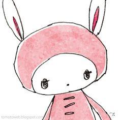 tomoto: Bunny and Strawberries x