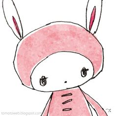 tomoto: Bunny and Strawberries