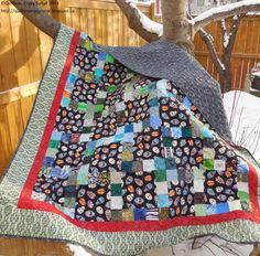 Quilters...Enjoy Color!: 3 & 8 Quilt Tutorial