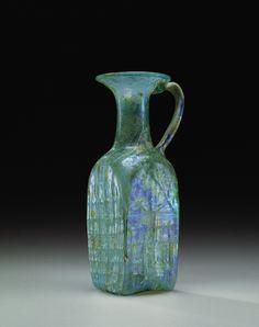 Roman Glass: Pitcher, 400-699 | Corning Museum of Glass