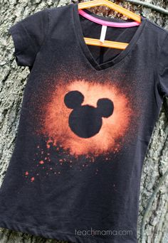 bleached out disney tshirts teachmama.com