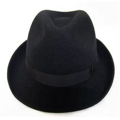 XXL Available Mens Black Wool Dress Winter Hats for Men SKU-159012 Mens  Dress Hats 0a3c6c9fc3f