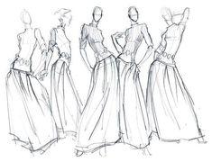 Fashion Illustration- Behance https://www.behance.net/gallery/2776677/Fashion-Illustration