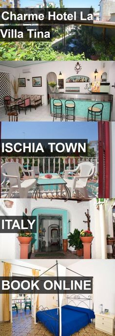 Hotel Charme Hotel La Villa Tina in Ischia Town, Italy. For more information, photos, reviews and best prices please follow the link. #Italy #IschiaTown #CharmeHotelLaVillaTina #hotel #travel #vacation