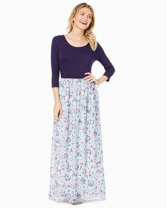 charming charlie | Pretty Paisley Maxi Dress | UPC: 100200000 #charmingcharlie