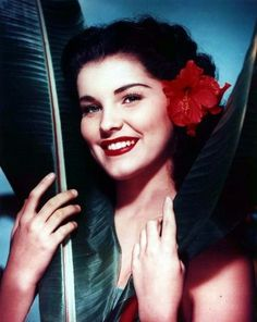 Debra Paget  #vintage #tiki #hawaii