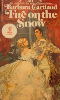"""Barbara Cartland Books and Cover Art: Frie on the Snow the first""""adult"""" novel i ever read,probably at 13...I probably know more about small radom countries and i loved the cover art passionately :)"""