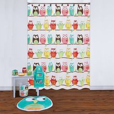 Saay Knight Ltd Owl Shower Curtain Collection