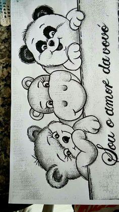 Fralda Girl Drawing Sketches, Art Drawings Sketches Simple, Animal Sketches, Easy Drawings, Pencil Drawings, Angel Drawing, Baby Clip Art, Diy Canvas Art, Disney Drawings